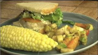 Grilled Fish Sandwich For Dads, How To Recipe : Tamra Davis Cooking Show