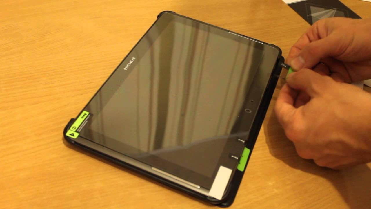 Как самому сделать защитную пленку на планшет
