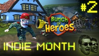 Bunch of Heroes Playthrough (Indie Month!) - Part 2