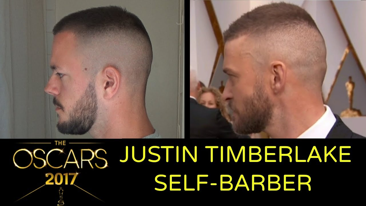 How To Cut Your Own Hair Like Justin Timberlake Oscars Opening