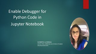 Visual Studio Code - Enable Debugger for Python Code in Jupyter Notebook