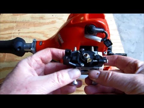 Echo Weed Eater Model SRM-225 New Filter Carburetor Gasket Replacement -  Part II - Oct 29, 2013