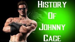 History of Johnny Cage Mortal Kombat X