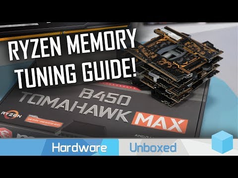 How to Manually Tune Your DDR4 Memory For Ryzen