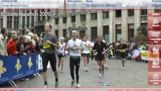 Brussels marathon - finish