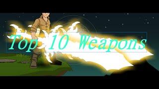 Aqw Top 10 Weapons 2016