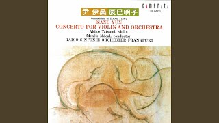 Concerto for Violin and Orchestra: II. —