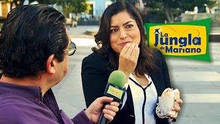 La alcaldesa a ras de parque.