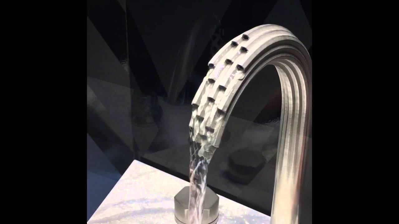 American Standard 3D Printed Faucets at IDS Toronto 2016 - YouTube