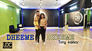 Dheeme Dheeme Tony kakkar | Harsh Nayak choreography ft. Shivani | Unique Dance Crew Indore
