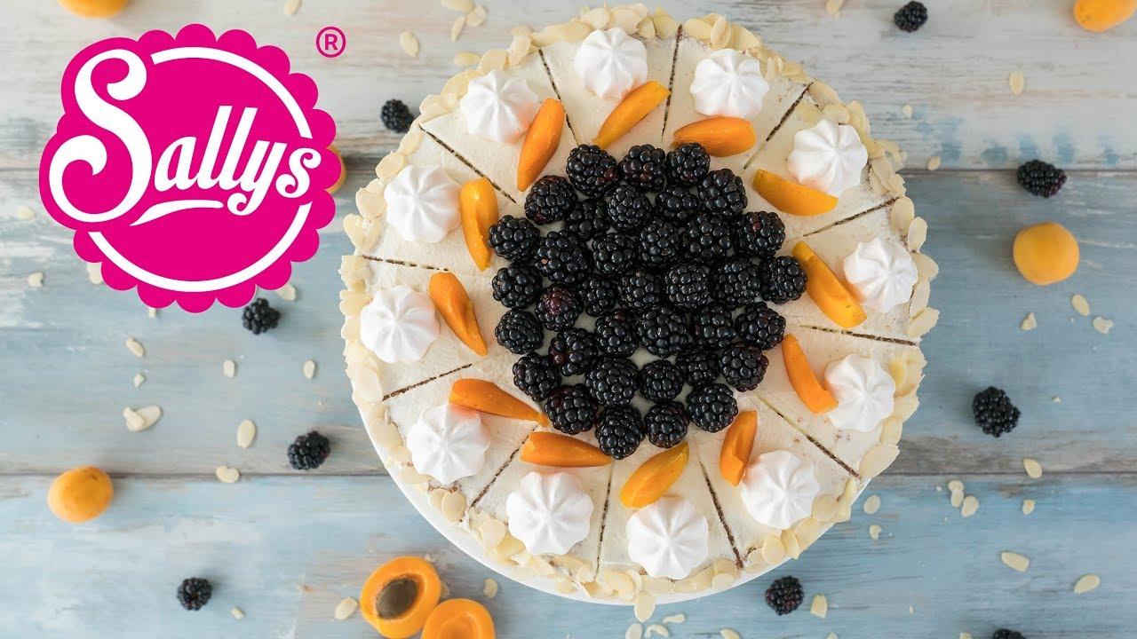Brombeer Aprikosen Torte Sommertorte Youtube