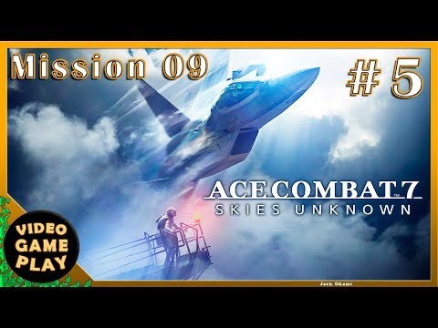 Ace Combat 7  Part 5  Mission 9  Gameplay Walkthrough - No commentary