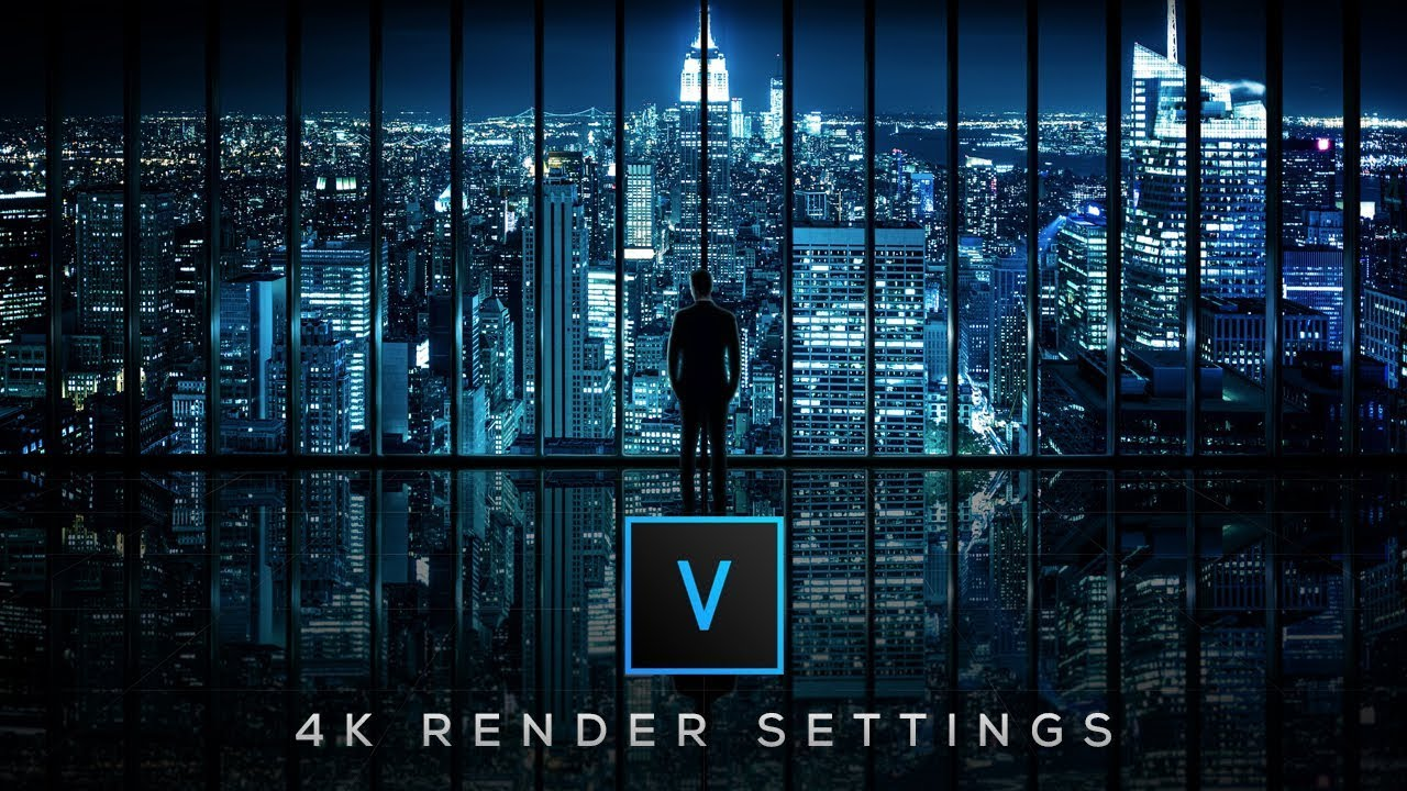 How To Render in 4K in Vegas Pro 15
