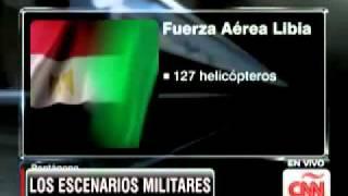 Guerra en libia E.U