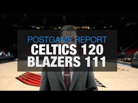Trail Blazers suffer another heartbreaker in loss to Boston Celtics