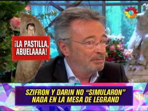 SZIFRON Y DARIN EN LA MESA DE MITHA LEGRAND  120814