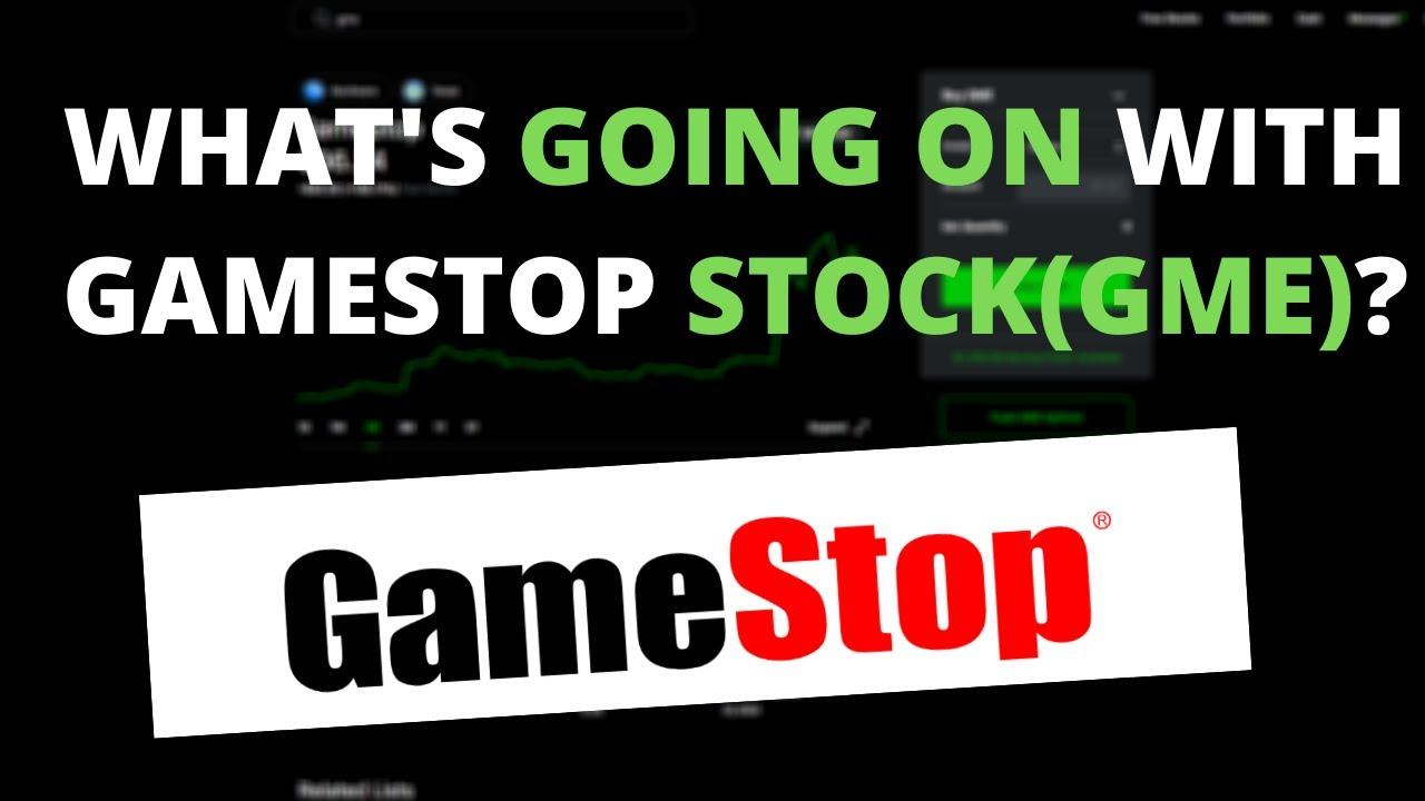 Gamestop stock is up 100% last week!!!! What does this mean(Buyers Beware)? ? ?