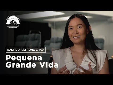Pequena Grande Vida | Bastidores: Hong Chau | LEG | Paramount Brasil