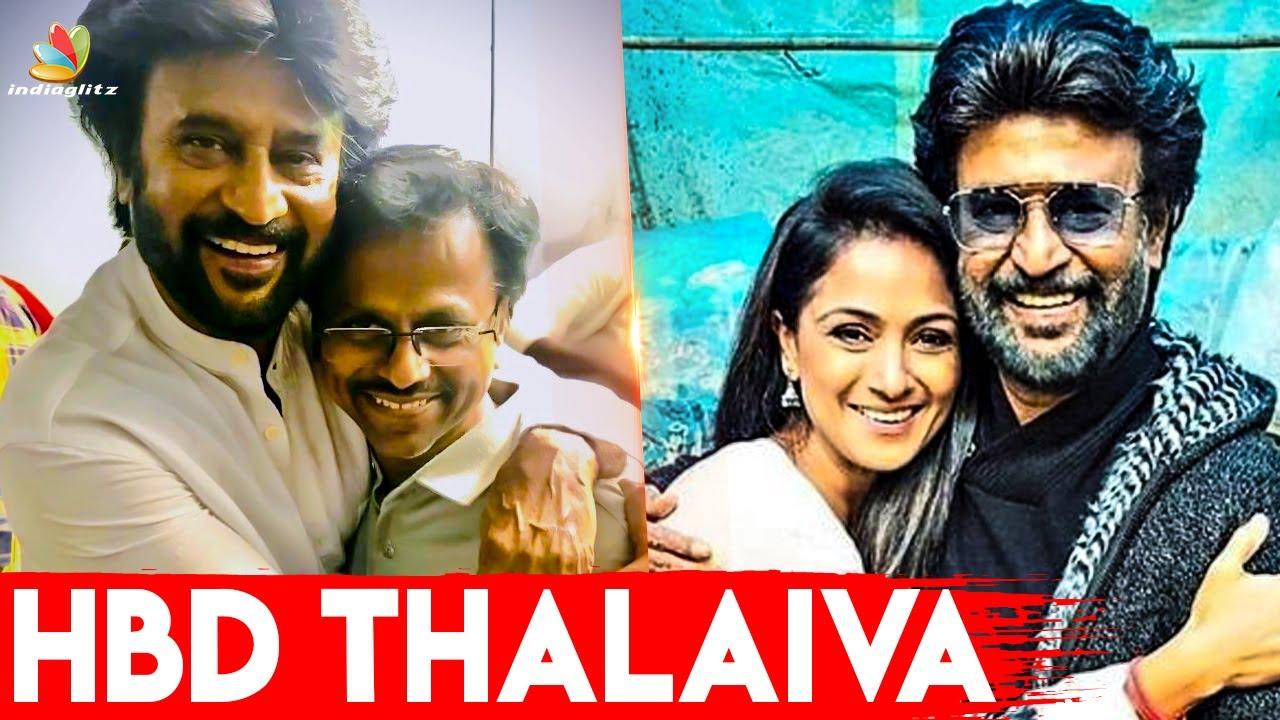 அன்றும் இன்றும் என்றும் ஒரே Superstar | Top Celebrities Wishes Rajinikanth | A R Murugadoss, Simran
