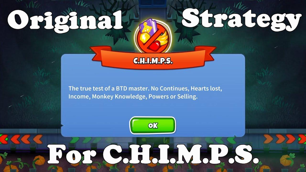 Bloons TD 6 - Haunted CHIMPS- Original Strategy (BTD6 v10)