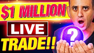LIVE: HUGE $1 MILLION TRADE! (GREATEST ALTCOIN PICK YET)