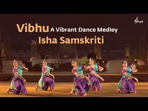 vibhu:-a-vibrant-dance-medley-by-isha-samskriti- -mahashivratri-2019