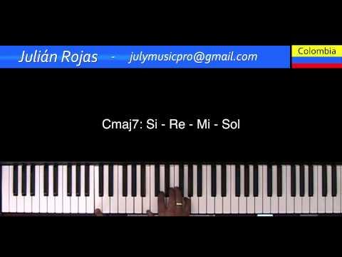 02- Clases Armonía e improvisación: Progresión ii V - I - Julián Rojas