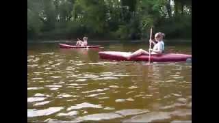 Kayaking the Tuscarawas River