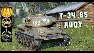 T-34-85 RUDY #5 World of Tank Blitz Feat Achillou Aced gameplay 4200 DMG