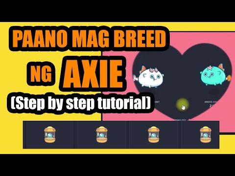 Download Axie Infinity   PAANO MAG BREED NG AXIE   Step by step tutorial