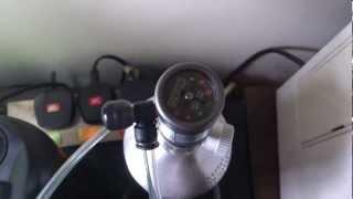 Up Aqua Aquarium Co2 Diffuser - The Effect Of Co2 Diffusibility (medium - High Co2 Used)