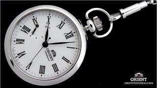 Orient Epoch Hand Wound Mechanical Men's Pocket Watch