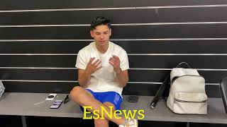 Ryan Garcia A Chaṁpion For Mental Health Took A Break From Pro Boxing To Deal With Mental Health