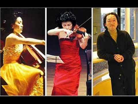 Chung Trio Plays Tchaikovsky's Piano Trio Op50  (1/5)