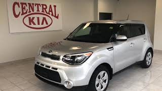 Silver 2016 Kia Soul LX Review   - Central Kia