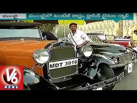 Vintage Cars, Bikes Expo at Mumbai | Vintage Classic Car Club of India | V6 News