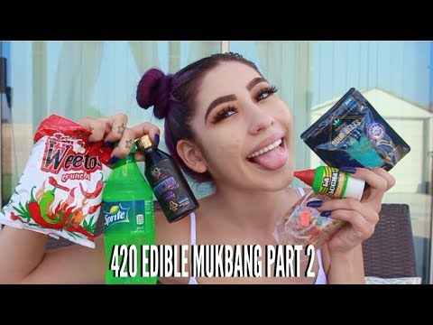 420 EDIBLE MUKBANG PART 2 // LIFEBEINGDEST