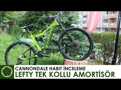 Tek Kollu Maşa - LEFTY - Cannondale Habit inceleme - Teknolojisi, Avantaj ve Dezavantajları