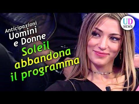 Anticipazioni Uomini e Donne: Soleil abbandona il programma! Spunta il suo ex!