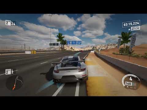 Demo de Forza Motorsport 7 Carrera con el Porsche 911 GT2 RS en Dubai