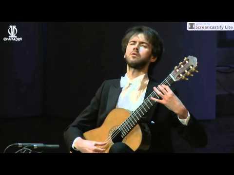"""Petrit Çeku - """"Le Fandango Varié"""" op. 16 (Dioniso Aguado)"""