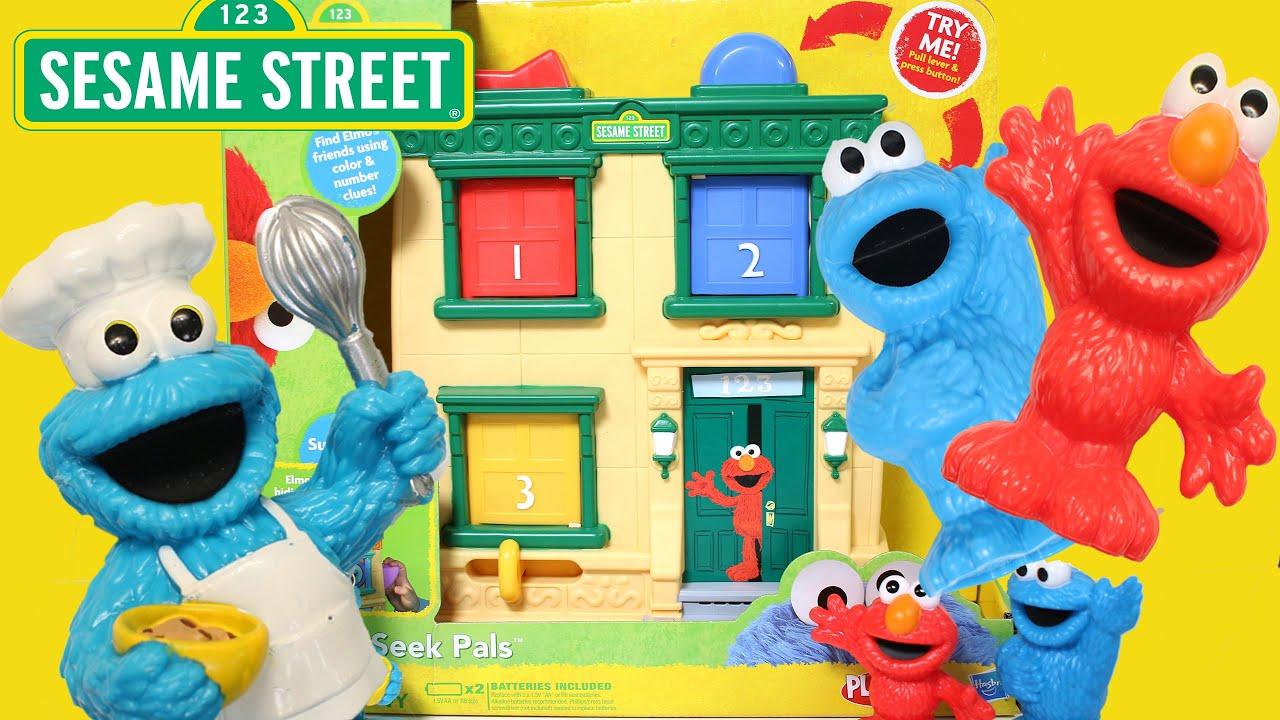Sesame Street Surprise Pals Hide N Seek Learn Colors With