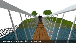 Pedestrian Suspension Bridge (revised Version)