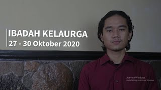 Ibadah Keluarga 27-30 Oktober 2020 - GKJW Jemaat Ngunut