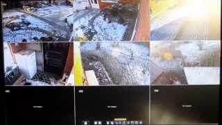 Видеонаблюдение на даче | Демонстрация интерфейса и iPhone(, 2015-01-18T17:38:37.000Z)