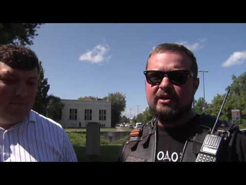 """04.07.2016 Ruski motoristi - """"Slovanski mir"""" v Ljubljani posadili lipo"""