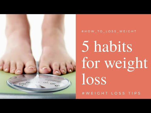 How to lose weight ! 5 tips for weight loss in hindi