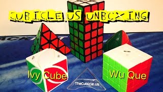 Usual Cubicle Unboxing!!! (Qiyi Wu Que 4x4/ Ivy Cube/ and more!!!)
