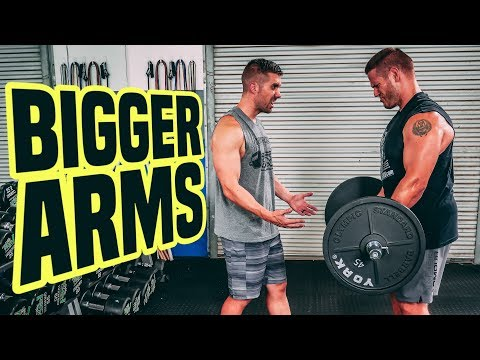 10 Best EZ Curl Bar Exercises for BIGGER Arms