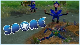 GROWING A BRAIN | Spore: Vooperia Returns | Episode 5
